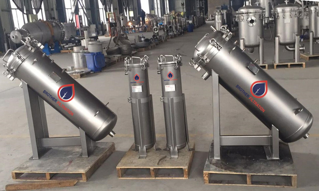 Stainless Steel High Flow Filter Housing
